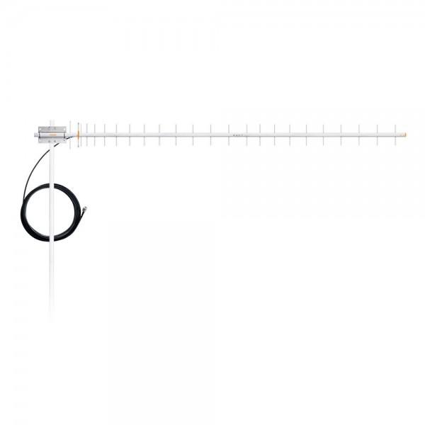 ANTENA CELULAR 900MHZ 20DBI COM CABO-CF-920C