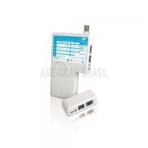 Testador de cabo RJ11 e RJ45, BNC e USB - 22.010