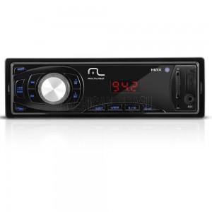 Som Automotivo Multilaser Max MP3 Player Entradas USB SD e Aux P3208-American Brasil