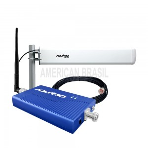 REPETIDOR DE SINAL CELULAR 3G 2100MHZ 60DB-RP-2160-American Brasil